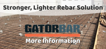 Stronger, Lighter Rebar Solution
